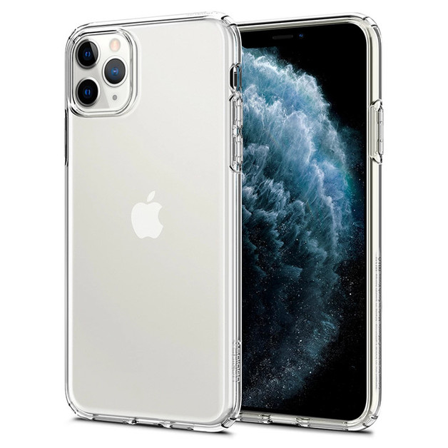 Spigen: iPhone 11 Pro Liquid Crystal Case - Crystal Clear