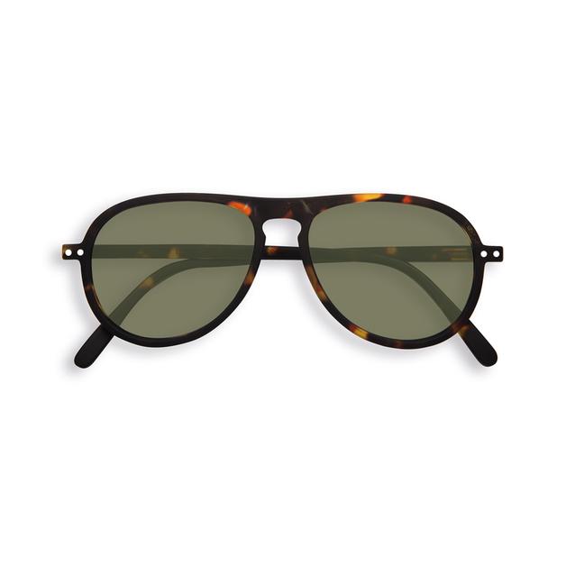 Izipizi: Sun Collection I Green Lenses - Tortoise