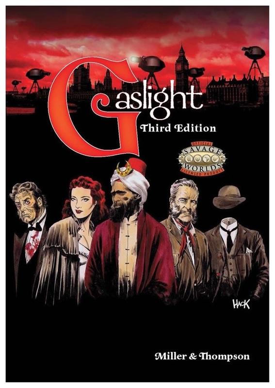 Gaslight: Victorian Fantasy RPG - Third Edition (Savage Worlds)
