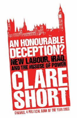 An Honourable Deception? by Clare Short image