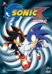 Sonic X - Volume 11 on DVD