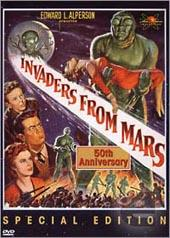 Invaders From Mars on DVD