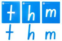 EC Colours - Lowercase Alphabet Stencil Set - Pack of 26