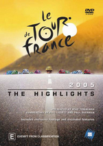Le Tour De France 2005 on DVD