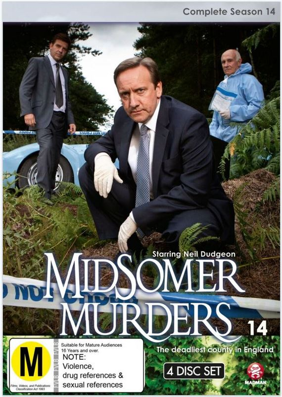 Midsomer Murders - Complete Season 14 on DVD