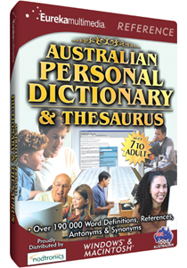 Australian Personal Dictionary and Thesaurus for PC Games image