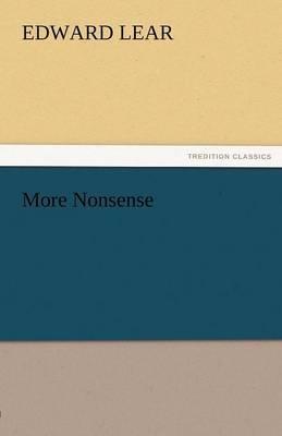More Nonsense by Edward Lear image