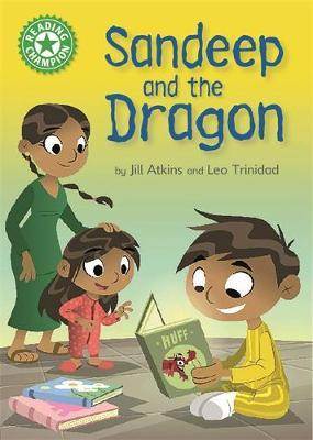 Reading Champion: Sandeep and the Dragon by Jill Atkins image