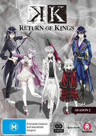 K': Return of Kings - Season 2 on DVD