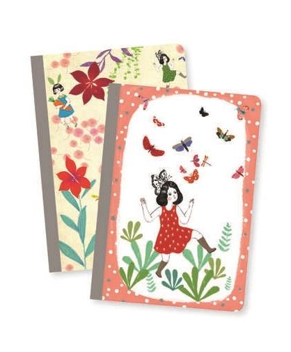Djeco: Notebook Set - Chichi