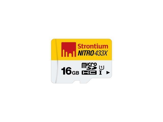 16GB Strontium NITRO MicroSD Card Only image