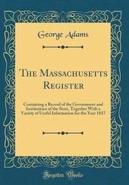 The Massachusetts Register by George Adams image