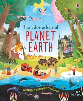 The Usborne Book of Planet Earth by Megan Cullis image