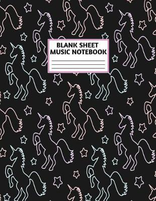 Blank Sheet Music Notebook by Trevon Buck Music