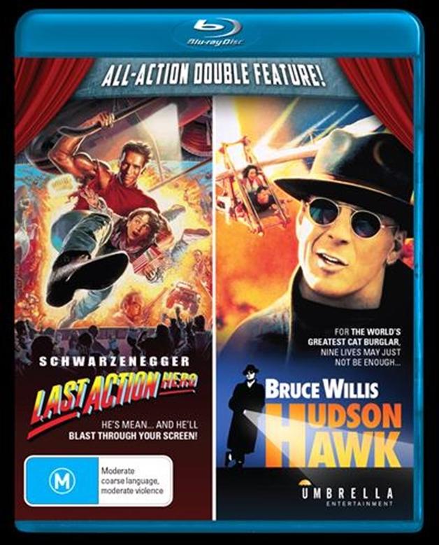 Last Action Hero/Hudson Hawk on Blu-ray