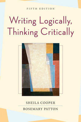 Writing Logically, Thinking Critically by Sheila Cooper image