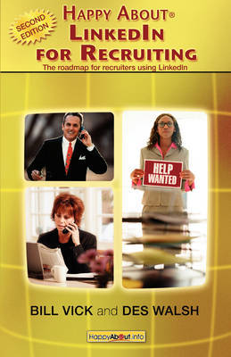 Happy About LinkedIn for Recruiting (Library Edition) by Bill Vick image