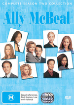 Ally McBeal - Complete Season 2 (6 Disc Slimline Set) on DVD