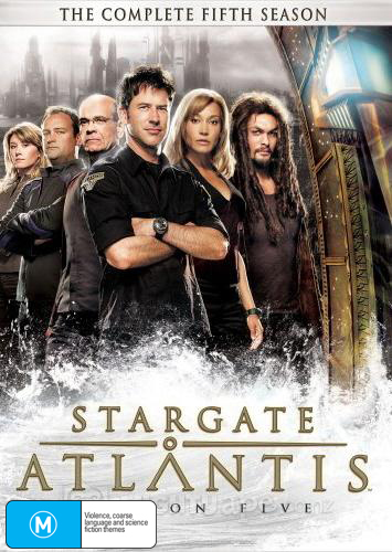 Stargate Atlantis - Complete Season 5 (5 Disc Slimline Set) on DVD image