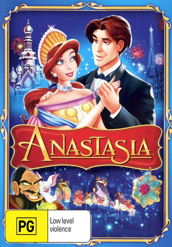 Anastasia (Animated) on DVD