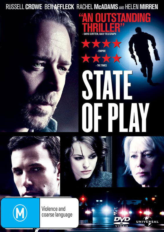 State of Play on DVD