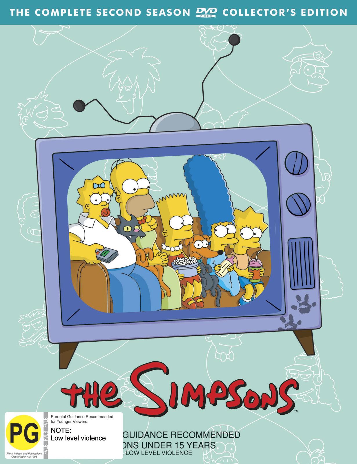 The Simpsons - Season 2 on DVD image
