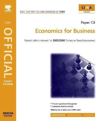 Economics for Business by Steve Adams image