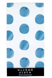 Wicked Sista: Emery Board - Watercolour Spots