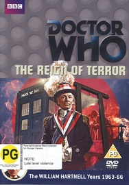 Doctor Who: The Reign of Terror on DVD