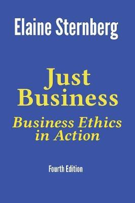 Just Business by Elaine Sternberg