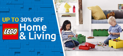 Up to 30% off LEGO Home & Living!