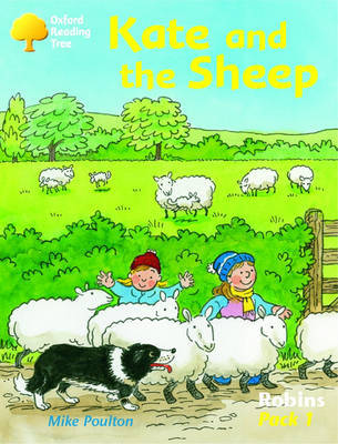 Oxford Reading Tree: Robins: Pack 1: Kate and the Sheep by Mike Poulton image
