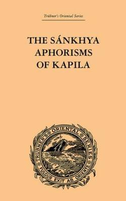 The Sankhya Aphorisms of Kapila by James R Ballantyne image