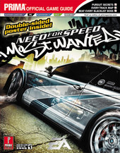 Need For Speed: Most Wanted - Prima Official Guide for PS2