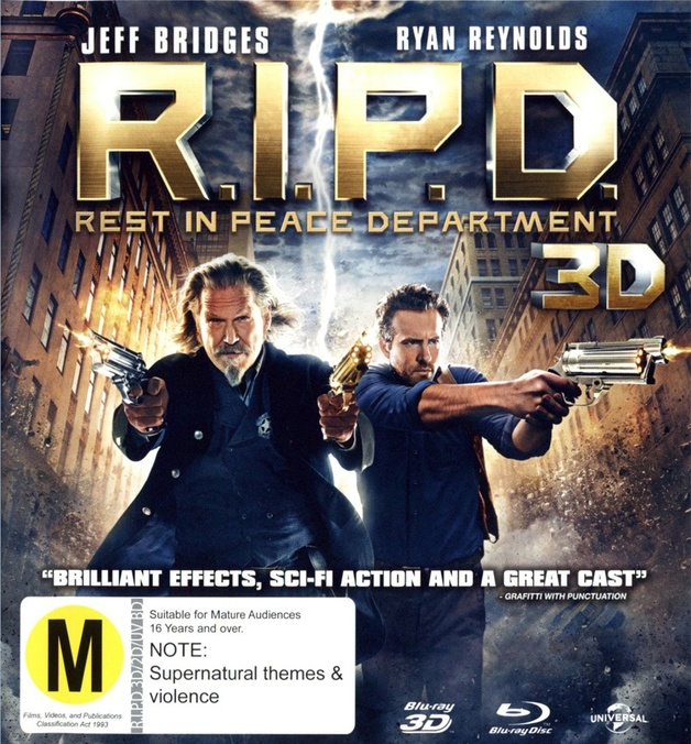 R.I.P.D. on Blu-ray, 3D Blu-ray