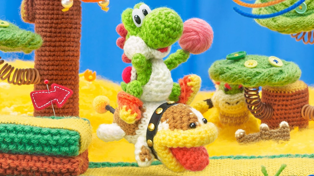 Poochy & Yoshi's Woolly World for Nintendo 3DS image