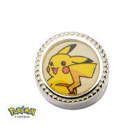 Pokemon Pikachu Sterling Silver Charm