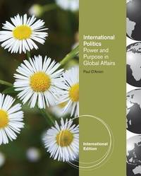 International Relations by Paul D'Anieri image