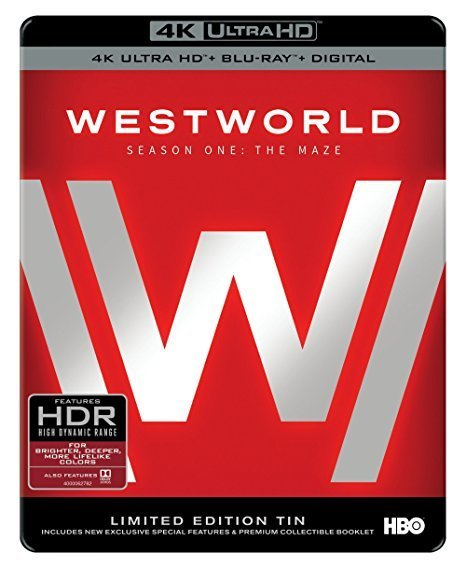 Westworld - Season One (Limited Edition Tin - 4K UHD + Blu-ray) on Blu-ray, UHD Blu-ray image