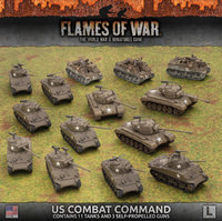 Flames of War: US Combat Command (Late War Army Box)