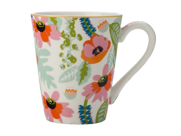 Maxwell & Williams: Teas & C's Glastonbury Mug - Alpinia White (360ml)