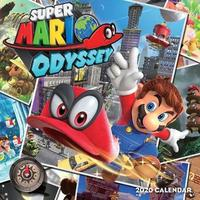 Super Mario Odyssey 2020 Wall Calendar by Pokemon