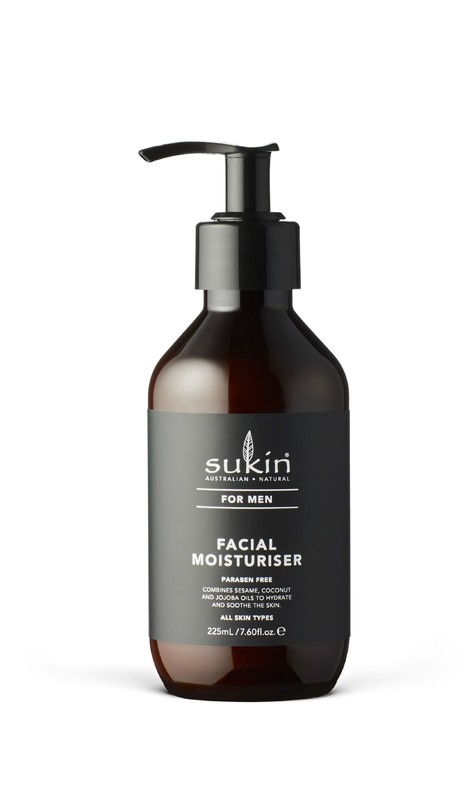 Sukin for Men Facial Moisturiser (225ml)