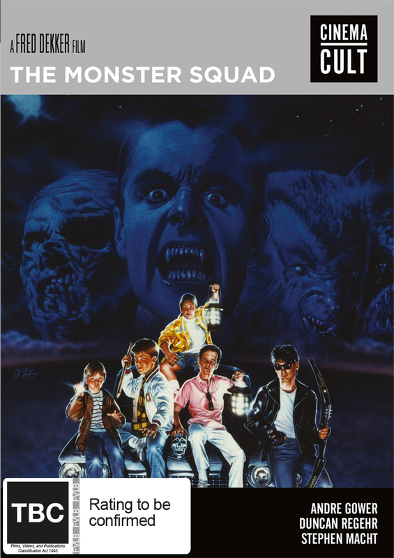 The Monster Squad on DVD
