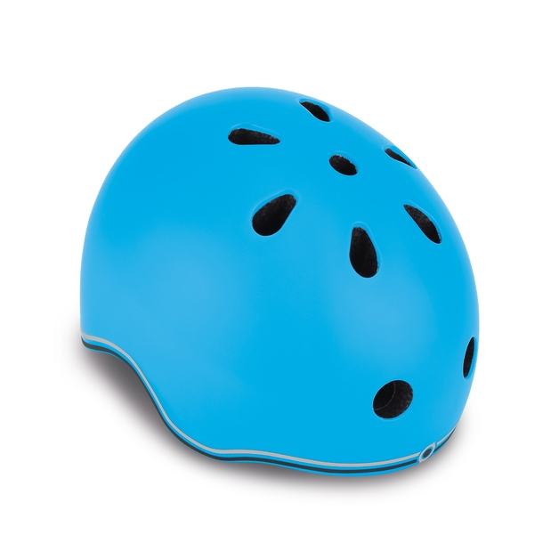 Globber: Protective Helmet with LED - Toddler XS (Sky Blue)