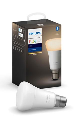 Philips: Hue LED Blub - Warm White (9.5W/A60/B22)