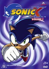 Sonic X - Volume 01 on DVD