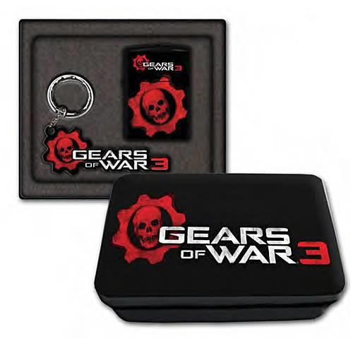Gears of War 3 Lighter and Key Chain Gift Set image
