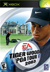 Tiger Woods 2003 for Xbox