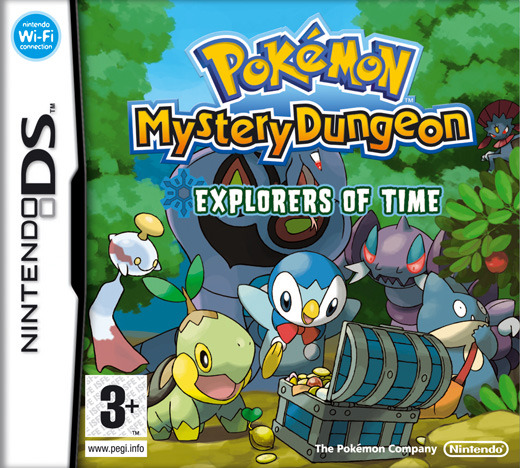 Pokemon Mystery Dungeon: Explorers of Time for Nintendo DS